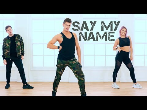 Say My Name - David Guetta, Bebe Rexha & J Balvin   Caleb Marshall   Dance Workout