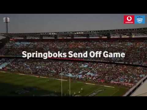Springboks vs Argentina 17 August 2019 - Loftus Versfeld