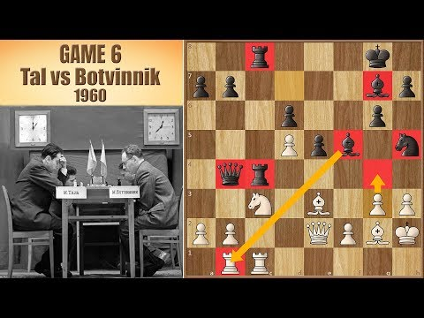 Storm of the Century | Tal vs Botvinnik 1960. | Game 6