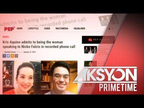 Kris Aquino, umaming boses niya ang nasa audio recording na kumakalat