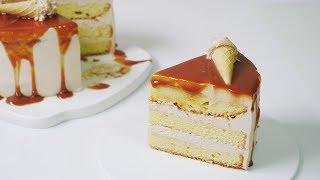 카라멜 케이크 만들기 Caramel cake recipe | 한세