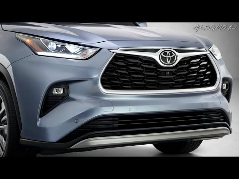 2020 Toyota HIGHLANDER – Toyota 8 Seater LUXURY SUV / ALL-NEW Toyota HIGHLANDER 2020