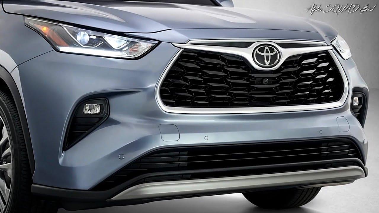 2020 Toyota Highlander Toyota 8 Seater Luxury Suv All New Toyota Highlander 2020