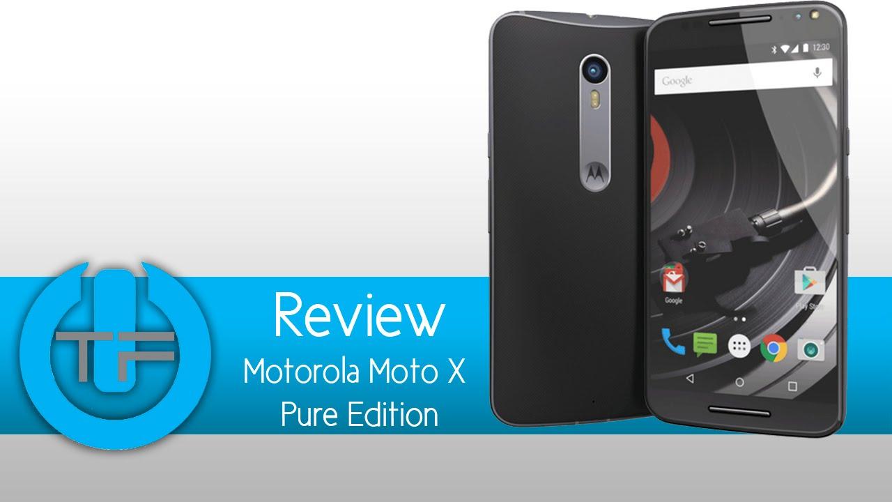 motorola moto review pure edition