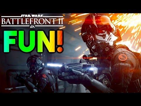 HUGE IMPROVEMENT! Star Wars Battlefront 2 Multiplayer Beta Review (Battlefront II Gameplay)