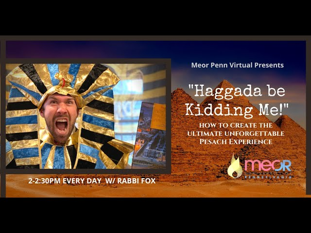 Haggada Be Kidding Me! /// Crossing the Reed Sea & Breaking False Barriers - The 7th Day of Pesach