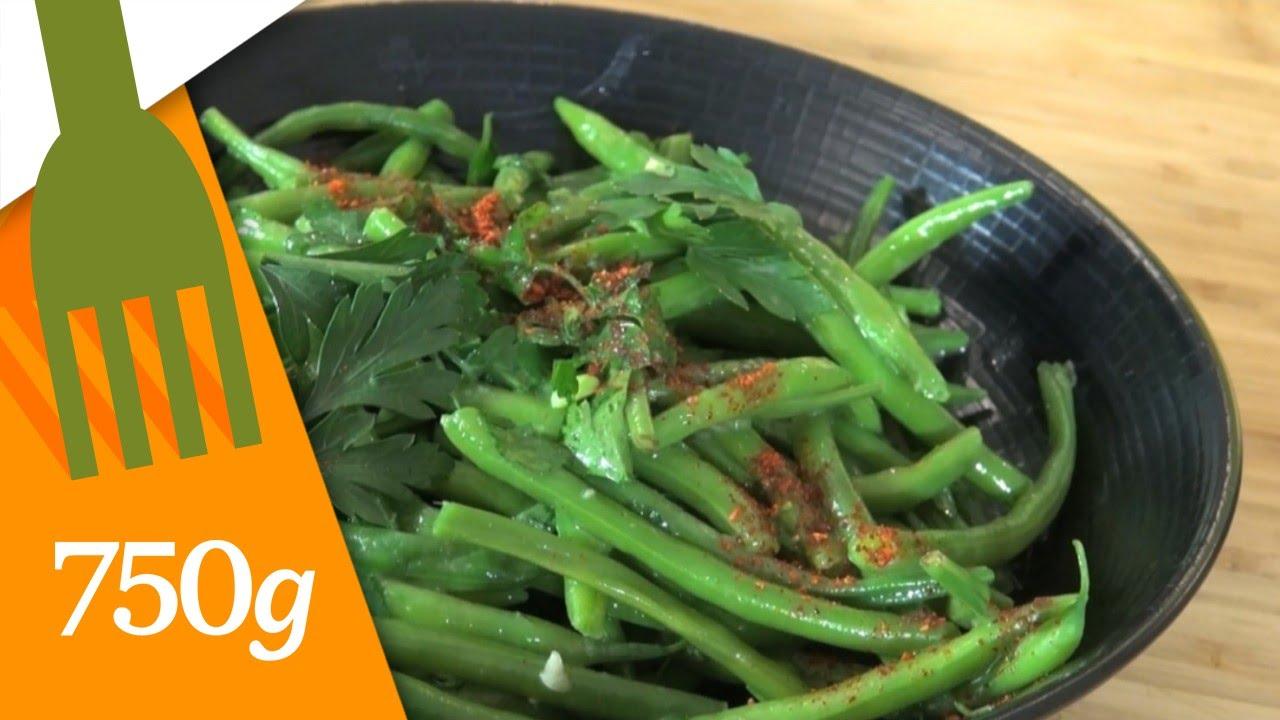 Recette de haricots verts au beurre 750g youtube - Comment cuisiner de la sole ...
