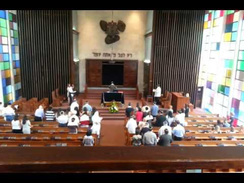Sinagoga Judaica,  Cerimônia de bar Mitzvah.