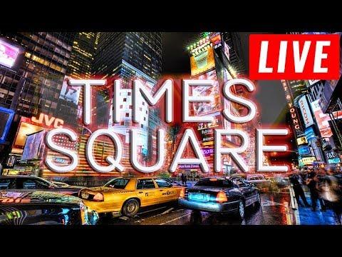 Times Square - Midtown Manhattan, New York City - Times Square Live Camera 24.7 ( CAM 3)