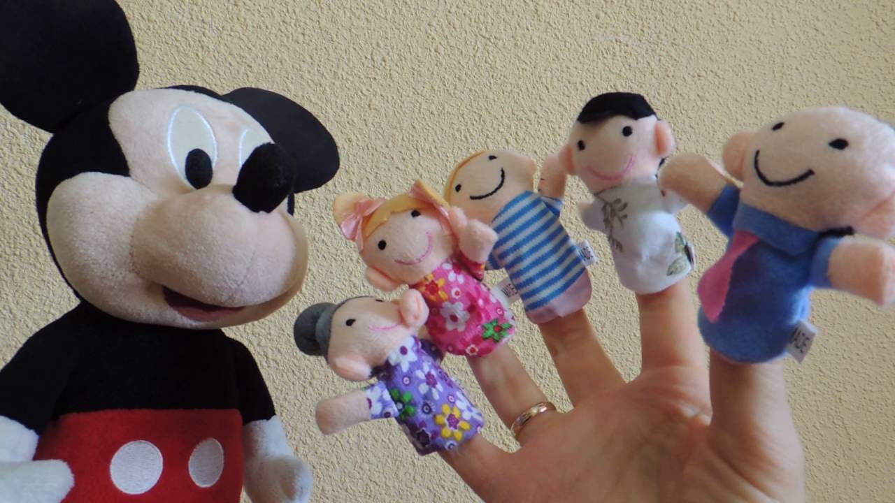 Mickey Mouse Song in German Finger Family  auf Deutsch Finger