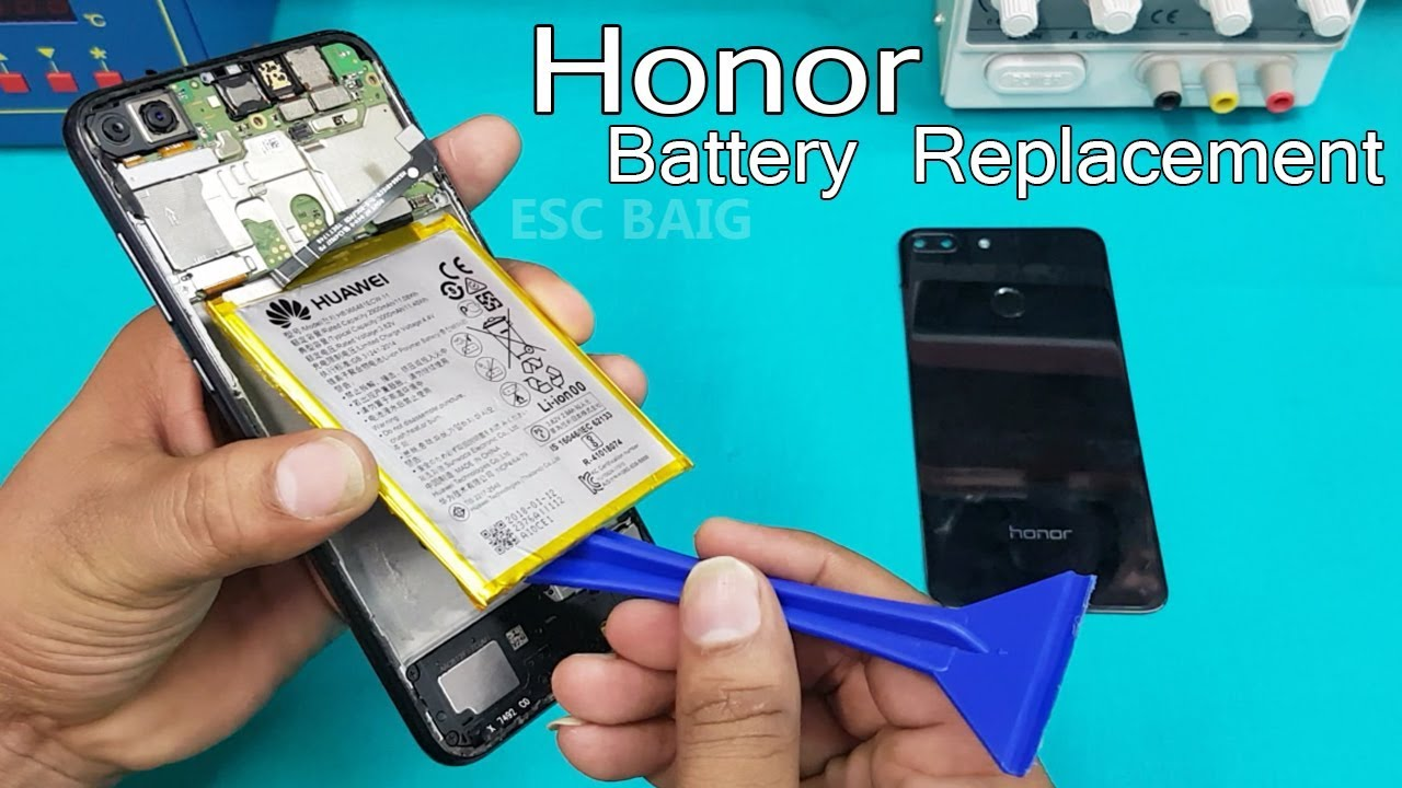 Huawei Honor 9 Back Cover Repair Guide - YouTube