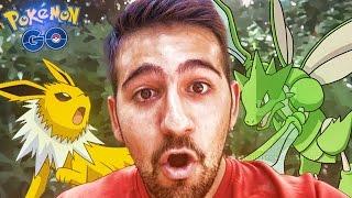 EN BUSCA DE POKEMON Y DEL LIDER DEL GIMNASIO !! | Pokemon GO - ElChurches