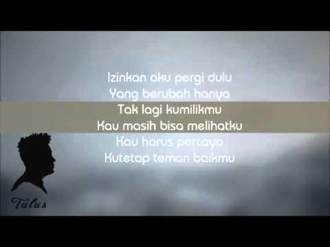 TULUS - Pamit (Lyric)