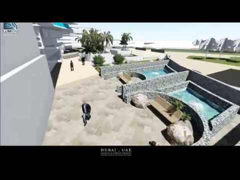 Oxford School of Architecture final show video, Dubai