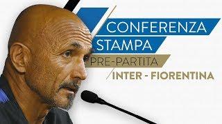 INTER-FIORENTINA | Luciano Spalletti in conferenza stampa L…