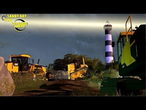 Farming Simulator 2017 Travaux Publics - ETA Sandy Bay Multiplayer