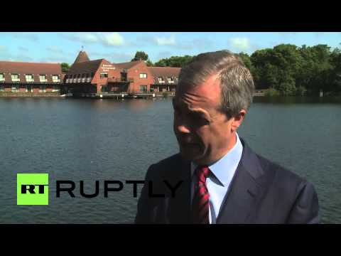 UK: UKIP's Farage says UN and Hague hungry for war in Syria