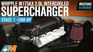 2015-2017 Mustang GT Whipple W175AX 2.9L Intercooled Supercharger Kit - Stage 1 Review