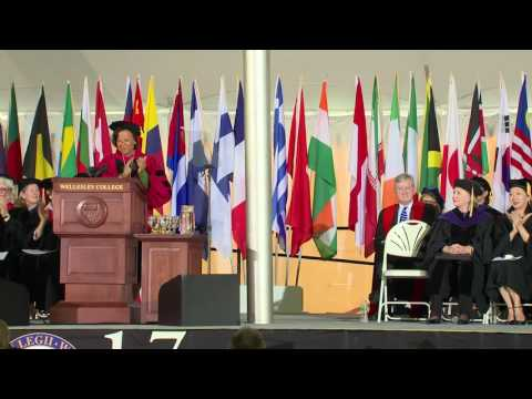 Wellesley College Class of 2017 commencement; Hillary Clinton speaks