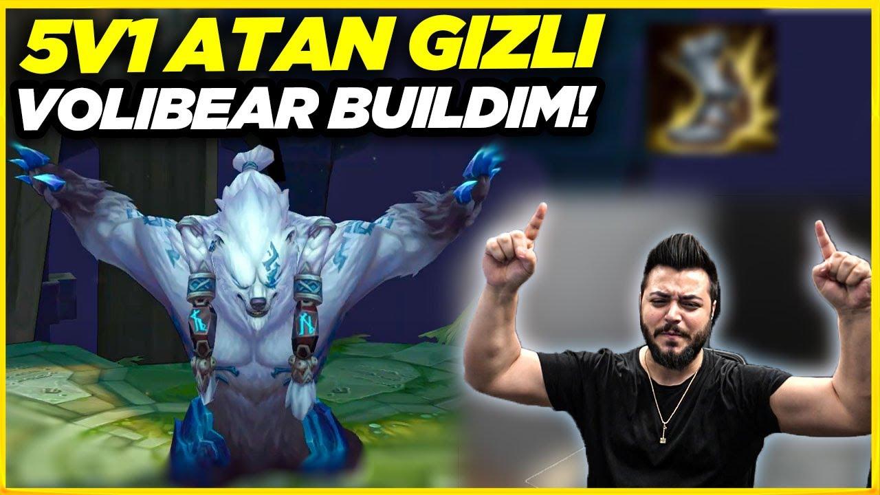 VOLİBEAR'İN EN GÜÇLÜ BUİLDİ!! 1V1'DE HERKESİ KESİYOR!! | VOLİBEAR JUNGLE | Elayja