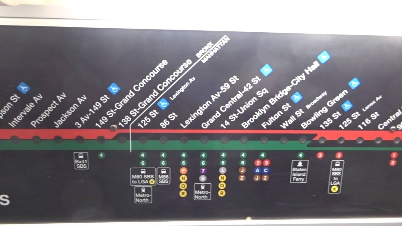 Subway Map Line 2.Nyc Subway A Look At The New 2 5 Line Strip Map