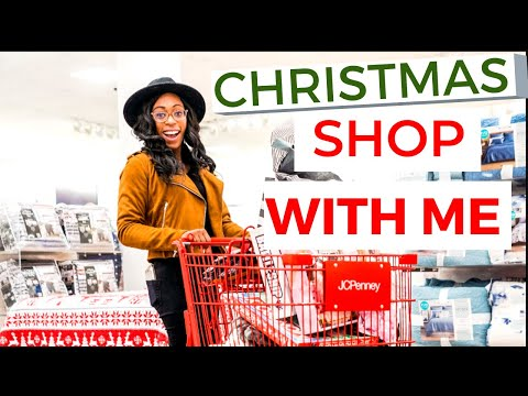 CHRISTMAS SHOPPING FOR MY BOYFRIEND & KIDS |  Shop With Me