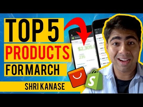 TOP 5 Winning Products To Dropship In March 2020 | Best Shopify Dropshipping Products thumbnail