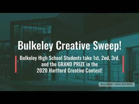 Bulkeley High School & Hartford Creative Contest Sweep!