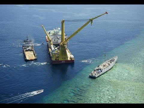 Salvage USS Guardian