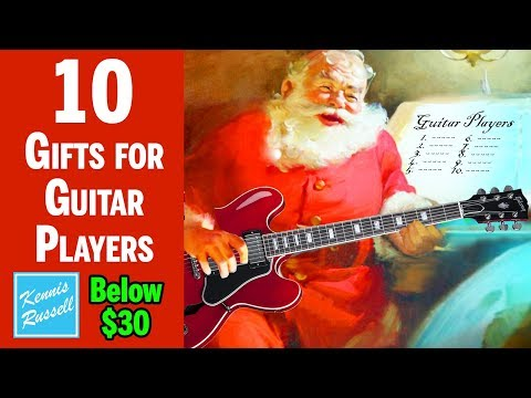 10 Gifts Below $30 Every Guitar Player Will Want For Christmas