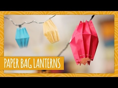 DIY Paper Bag Lanterns - HGTV Handmade