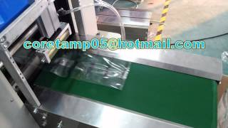 Automatic baby diaper plastic bag packaging machine, baby diaper packing machine