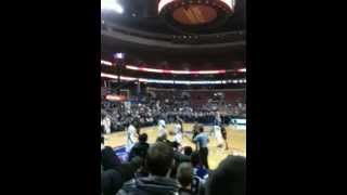 Villanova Storming the Court vs. #5 Louisville