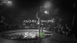 Jayd-illa vs Wealthy // .stance // FSS 1v1 - 2014 // UDEFtour.org