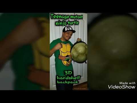 3D teenage mutant ninja turtle backpack