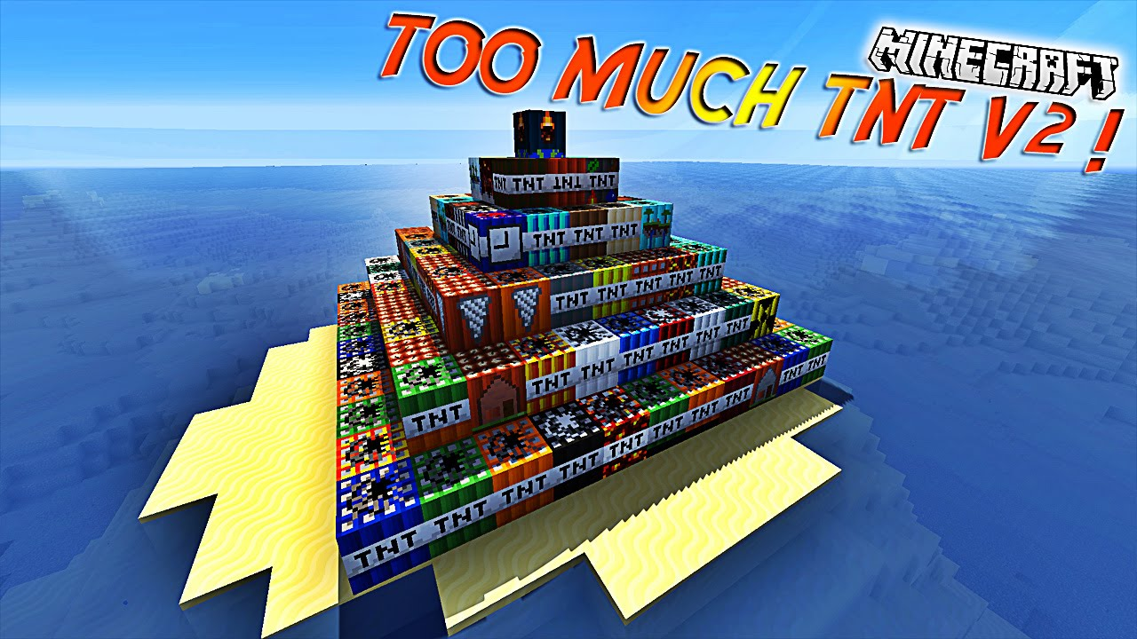 Too much tnt [1. 8] [1. 7. 10] / minecraft mods / minecraft-inside. Com.