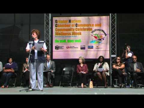 Launching of Wellness Week in Harlem, New York City, 09/16/2011