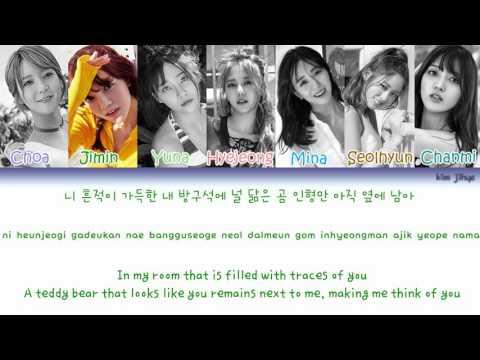 AOA (에이오에이) – Still Falls The Rain Lyrics (Han|Rom|Eng|Color Coded)