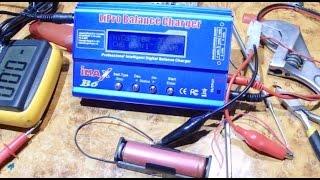 Простое восстановление LI-ion аккумулятора. Сделай сам! за 3 минуты!