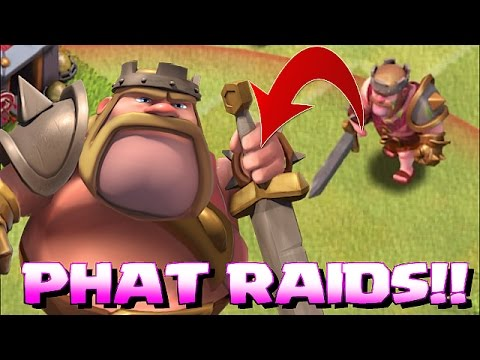 Clash Of Clans - HAPPY THANKS GIVING!!! (Phat raids)