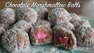 Chocolate Marshmallow Balls
