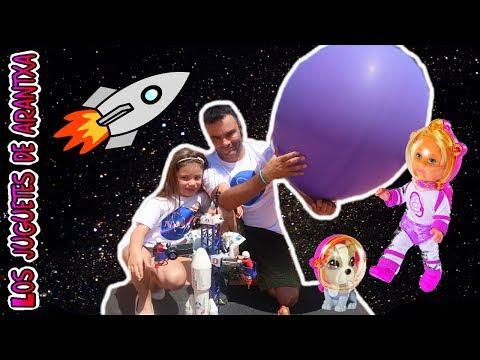 Lanzamiento de una muñeca al espacio ¿hasta donde llegara?