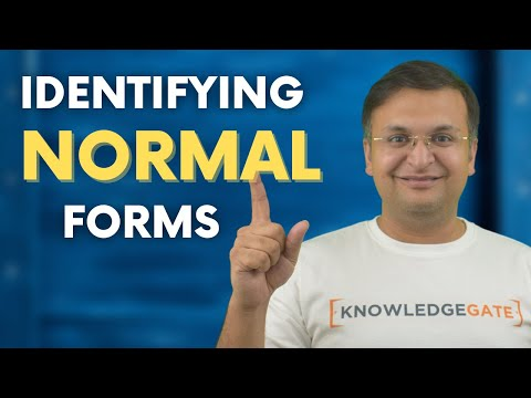 how to find NORMAL FORM | DBMS | part-13
