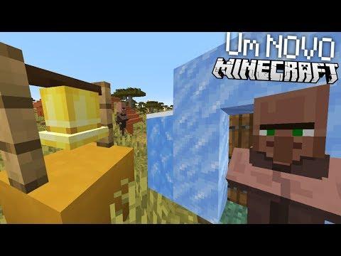 UM NOVO MINECRAFT, 2 NOVAS VILAS! E MAIS   Atualização de Minecraft (1.14)