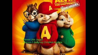 move like jagger alvin and the chipmunks