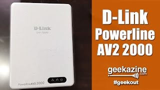 D-Link Powerline AV2 2000 Gigabit Technology Video Review