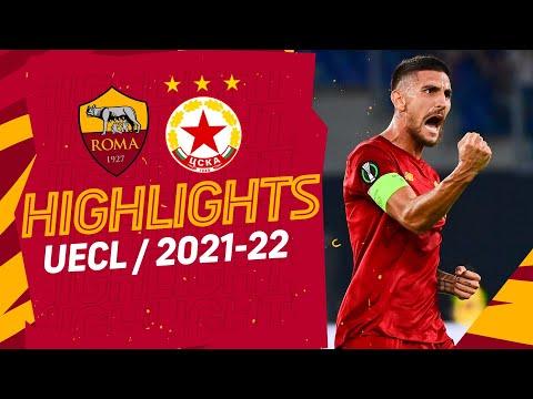 AS Roma CSKA Sofia Goals And Highlights