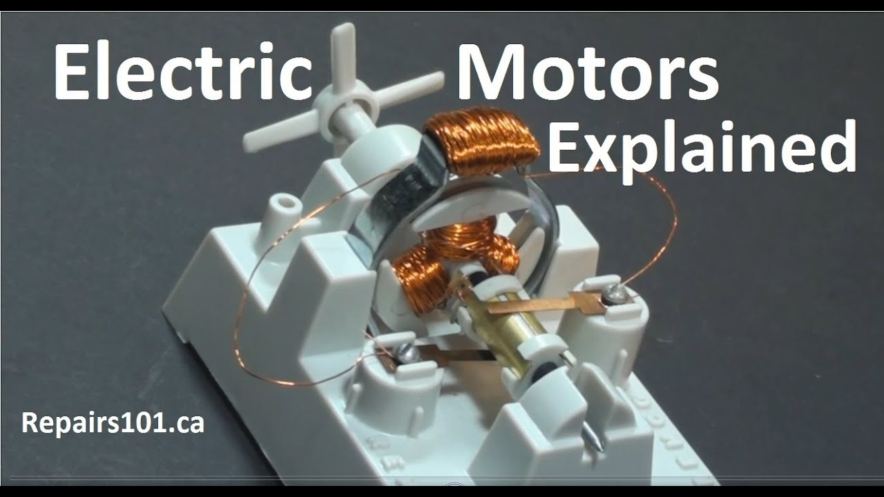 Electric Motors Explained 50 Year Old Toy Unboxing Youtube