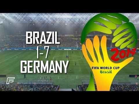 Brazil 1-7 Germany: Match Remade (2014 FIFA World Cup: Brazil)