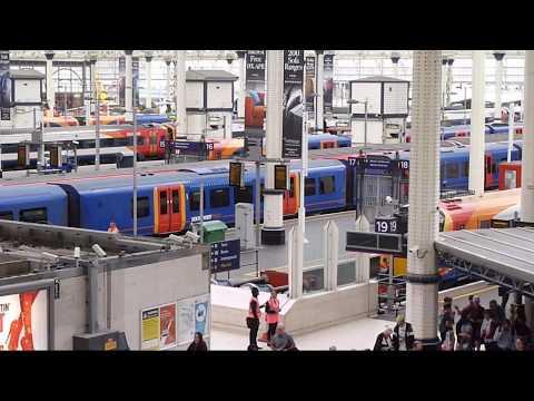 Trains at: Waterloo, 22 Aug 17
